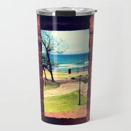 Framing Paradise Travel Mug