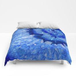 Ocean Blue Crystal Comforters