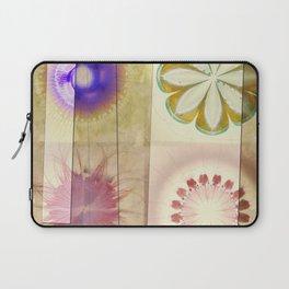 Gleeted Substance Flower  ID:16165-082307-33861 Laptop Sleeve