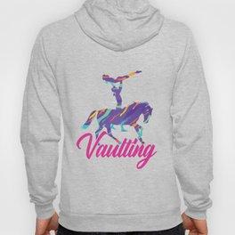 Vaulting Gymnast Horse Balancing Acrobats Gift Hoody