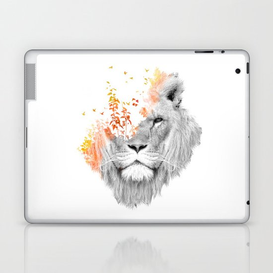 If I roar (The King Lion) Laptop & iPad Skin