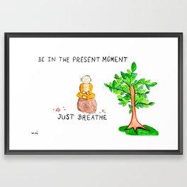 The Present Moment Framed Art Print