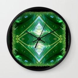MORE EMERALD GREEN Wall Clock