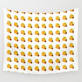 Pixel Taco Wall Tapestry