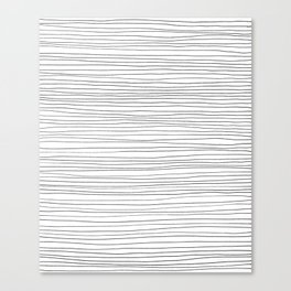More Lines Canvas Print