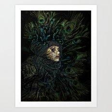 The Grande Dame Art Print