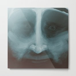 Lewis, close-up portrait Metal Print