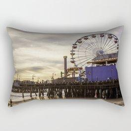 Santa Monica Pier Fun Rectangular Pillow