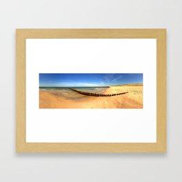 Groin V Framed Art Print