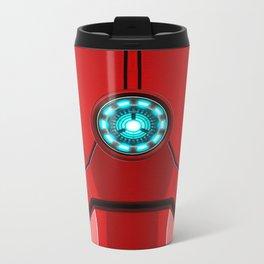 IRON MAN Iron man Body Armor Metal Travel Mug