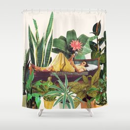 TERRARIUM Shower Curtain