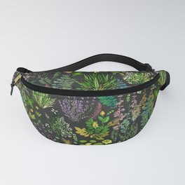 Aromatic Garden for Health and Well Being Fanny Pack