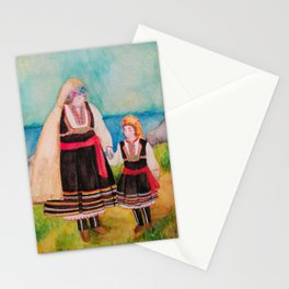 Women Folklore Stationery Cards