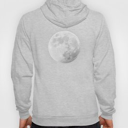 CHALK WHITE MOON Hoody