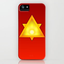 A Golden Dawn iPhone Case