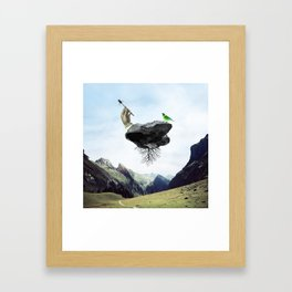 Other World III Framed Art Print