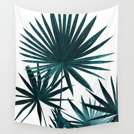 Fan Palm Leaves Jungle #1 #tropical #decor #art #society6 Wall Tapestry
