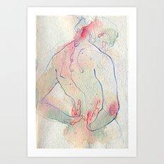 Moles. Art Print