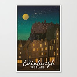 Scotland, Edinburgh Canvas Print