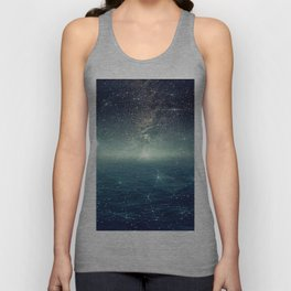 ...The Stars, Look How They Shine For You Unisex Tank Top
