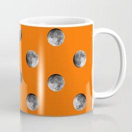 Lunar Moon - orange Coffee Mug