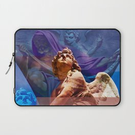 Religious Hymns of Angels Laptop Sleeve