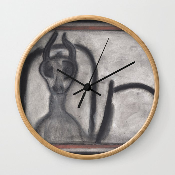 out of the gates Wall Clock