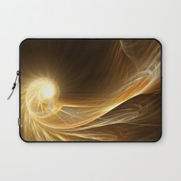 Golden Spiral Laptop Sleeve