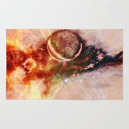 Cosmic scene 01 Rug