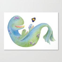 Mr. Blue Canvas Print