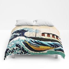 BIG SHIP big wave Comforters