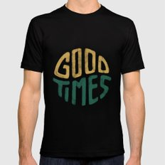 Good Times Mens Fitted Tee Black X-LARGE