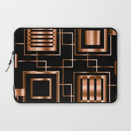 Behind the Copper Bars Laptop Sleeve