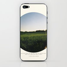 Go Instead iPhone & iPod Skin