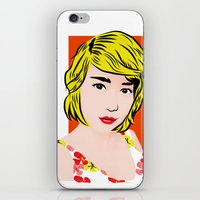 popart iPhone & iPod Skins featuring popart  by Biansa Naiyananont