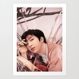 BTS RM LOVE YOURSELF FANART Art Print