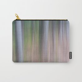 Forest Blur Carry-All Pouch
