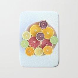 Rainbow Citrus Bowl Bath Mat