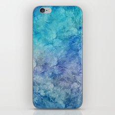 Frozen Leaves 13 iPhone & iPod Skin
