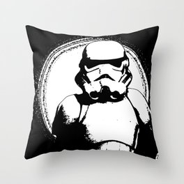Trooper 2 Throw Pillow