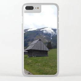 Tatra Mountain Trail Clear iPhone Case