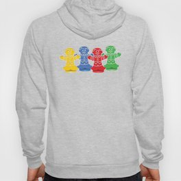 Candy Board Game Figures Hoody