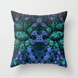 Candy 2 Stalagmites Throw Pillow