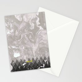 How the Ink Moves IV Stationery Cards