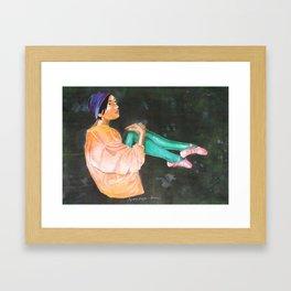 Mona Framed Art Print