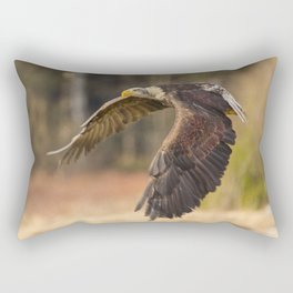 Bald Eagle in Flight Rectangular Pillow