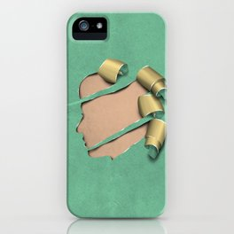 real woman iPhone Case