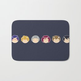 free! ball-faces Bath Mat