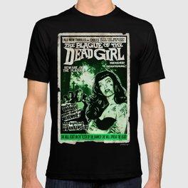 """DEAD GIRL SUPERSTAR """"THE PLAGUE OF THE DEAD GIRL"""" T-shirt"""