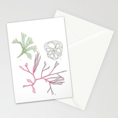 Seaweed and Lotus Root Stationery Cards